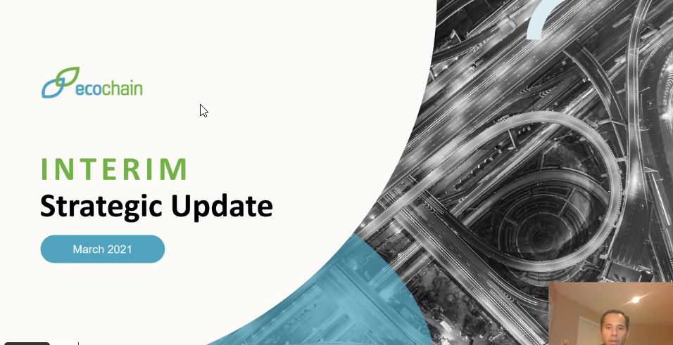EcoChain, Inc. Announces Strategic Update on its Growth and Operations