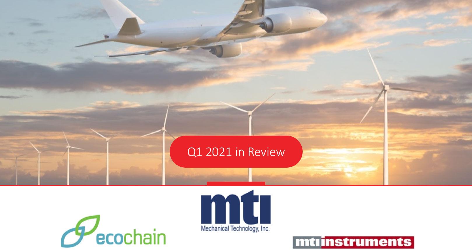MTI announces Q1 2021 Revenue