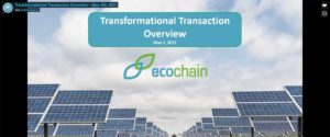 Transformational Transaction Overview